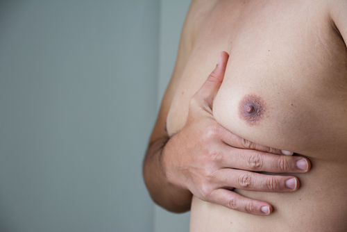 close up men boob with belly fat on fat man-img-blog